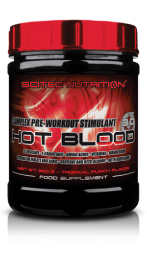 Scitec Hot Blood 3.0 15 Servings 300g