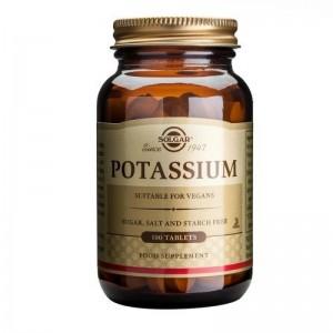 Solgar Potassium Tablets 100 Tablets
