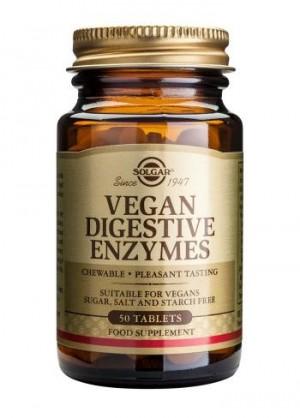 Solgar Vegan Digestive Enzyme Tabs 50 tabs