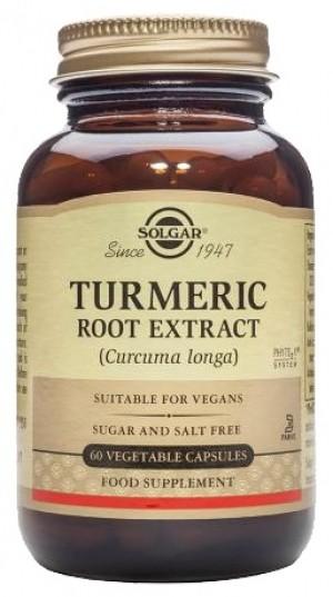 Solgar Turmeric Root Extract (60 Capsules)