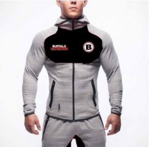 Buffalo GymFit Full Tracksuit V2 Grey/Black