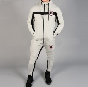 Buffalo GymFit Full Tracksuit V4 Grey/Black