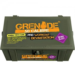 Grenade 50 Calibre Pre-Workout Sachet 50 Servings 580g