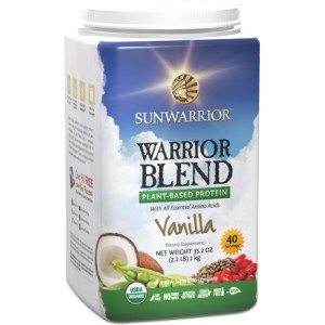 SunWarrior Warrior Blend Protein - 40 Servings - 1kg