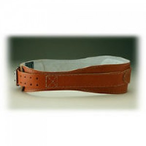 Schiek Leather Contour Belt Brown