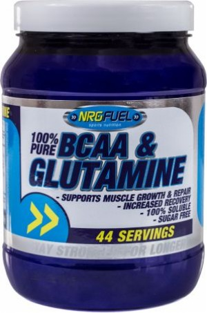 NRG fuel 100% Pure BCAA Glutamine