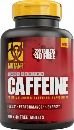 Mutant Core Caffeine - 240 Tabs