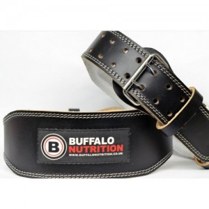 Buffalo Nutrition Leather Padded Training Belt