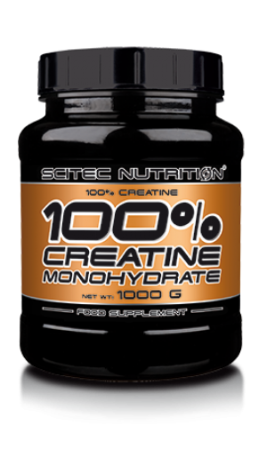 Scitec 100% Creatine Monohydrate 100 Servings 500g